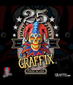 graffix 25th anniversary dab mat