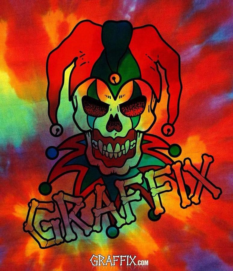 graffix flag psychedelic