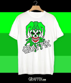 green graffix t-shirt